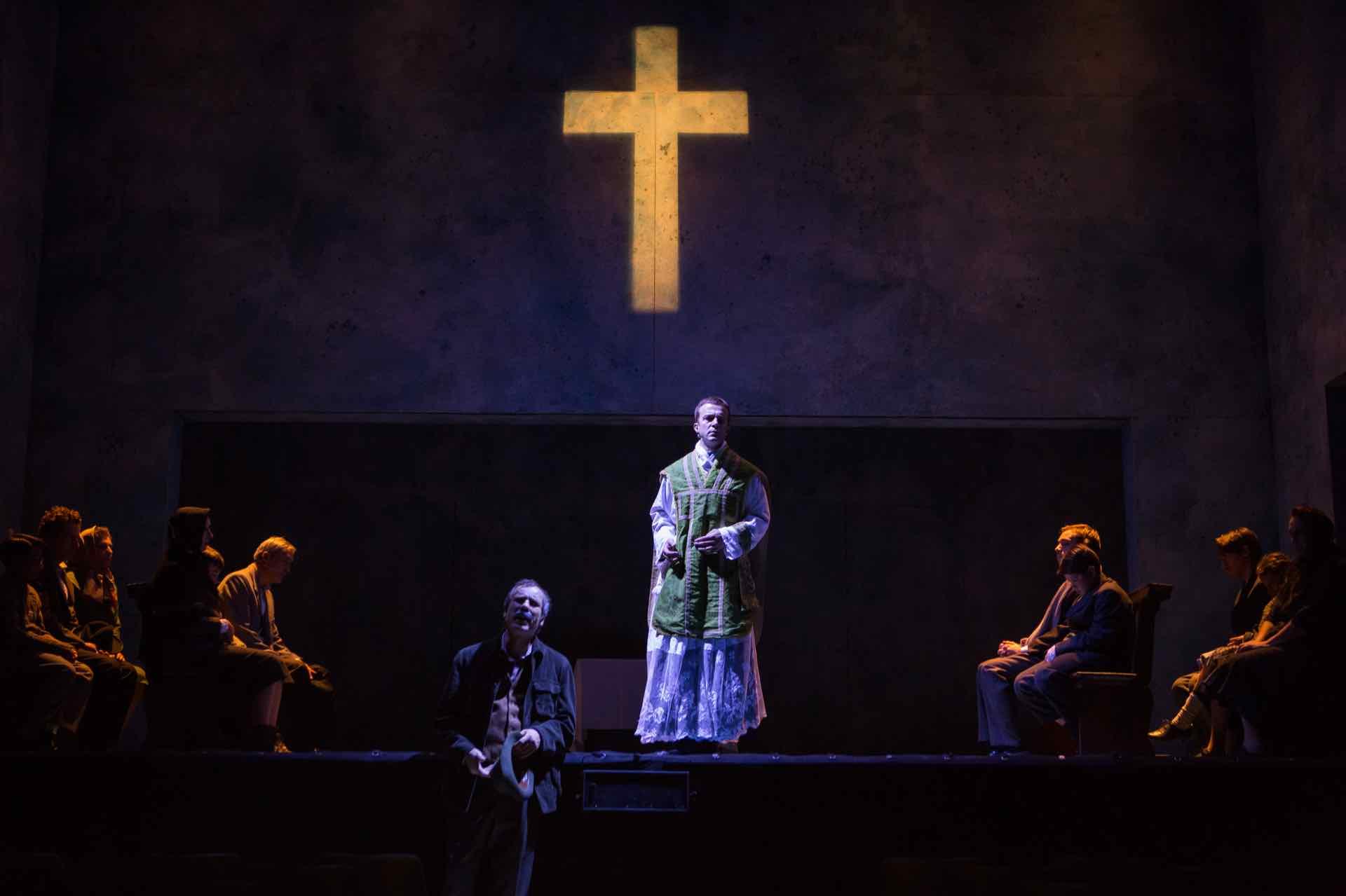 Il Vangelo secondo Lorenzo - regia Leo Muscato - ph Ilaria Costanzo
